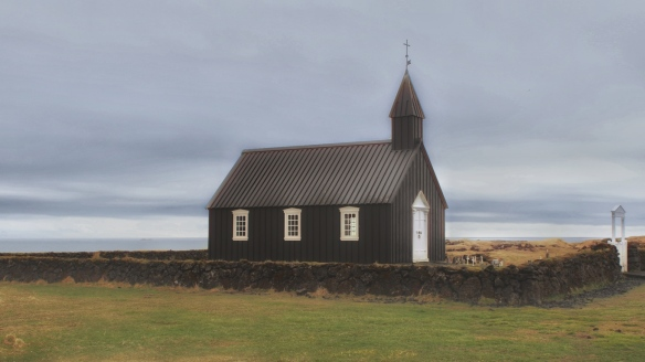 Black Church, Budir, Iceland