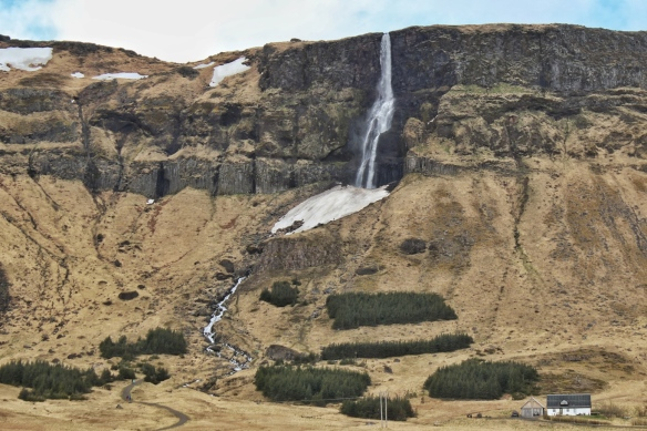 Waterfall, Snaefellsness peninsula, Iceland