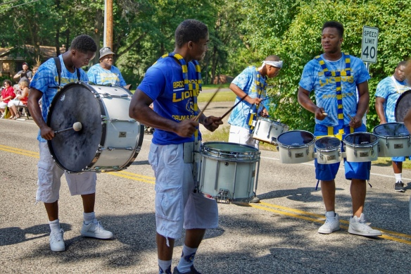 Drummers in the parade
