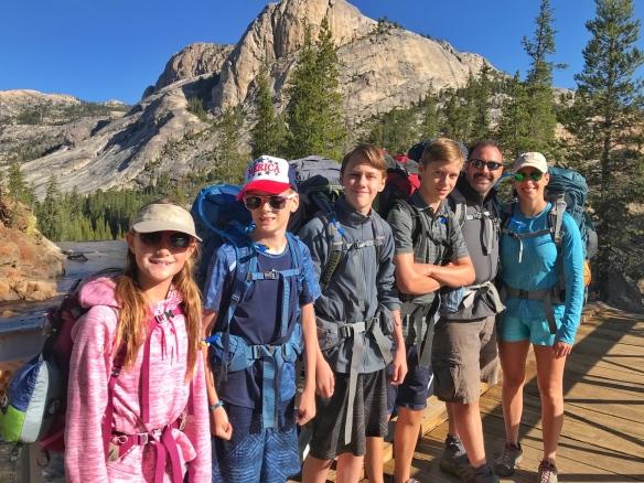 High Sierra hike