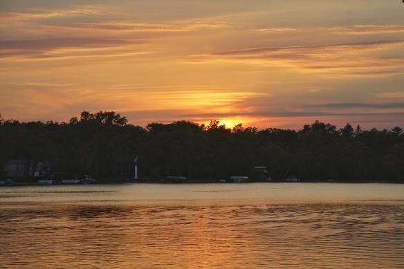 Sunset on Lake Josephine, St. Paul, MN
