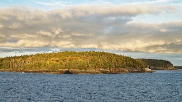 Islands off Bar Harbor, ME