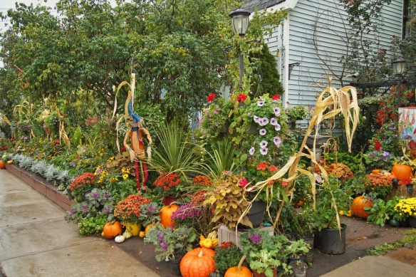 Fall harvest decoration, Prince Edward Island