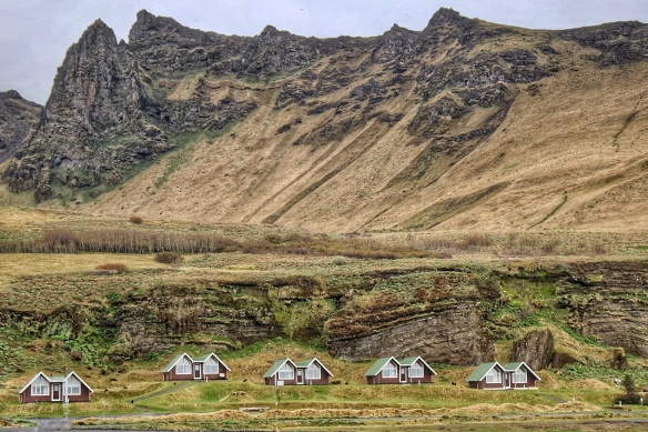 On the road to Vik, Iceland