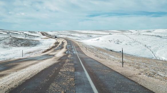 Eastern Wyoming highway