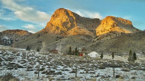 a Wyoming farm