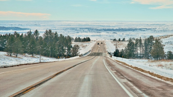 Black Hills looking toward Cheyenne river bottom