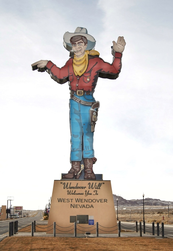 Wendover Will on the border of Nevada and Utah