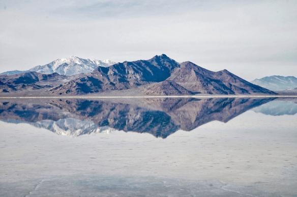Bonneville Salt Flat, Great Salt Lake, UT