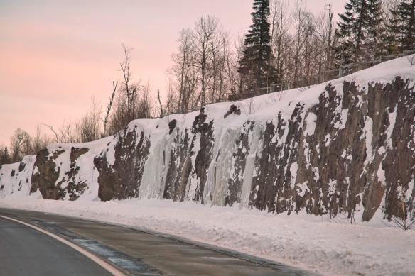Lake Superior north shore highway, MN
