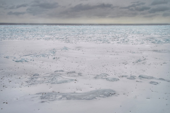 Lake Superior ice at Tofte, MN